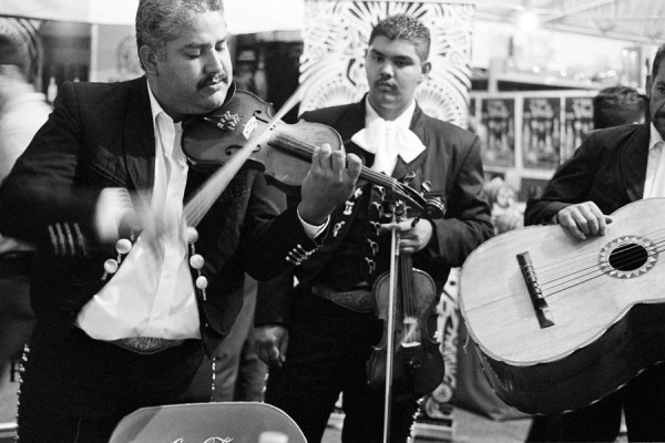 Mariachis perform at the 2008 Tequia Expo in Tijuana, Mexico.